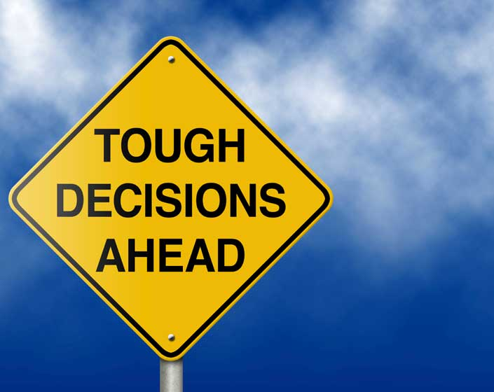 On How To Take A Decision